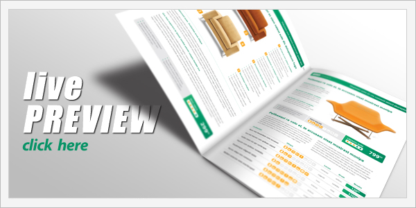 catalog template preview