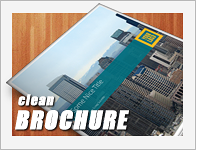 brochure clean template