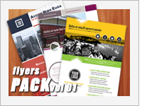flyers pack template preview